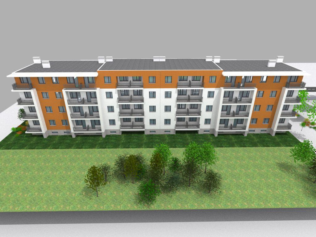 wizualizacja budynków